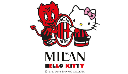 KITTY MILAN !! Hello kitty & AC Milan